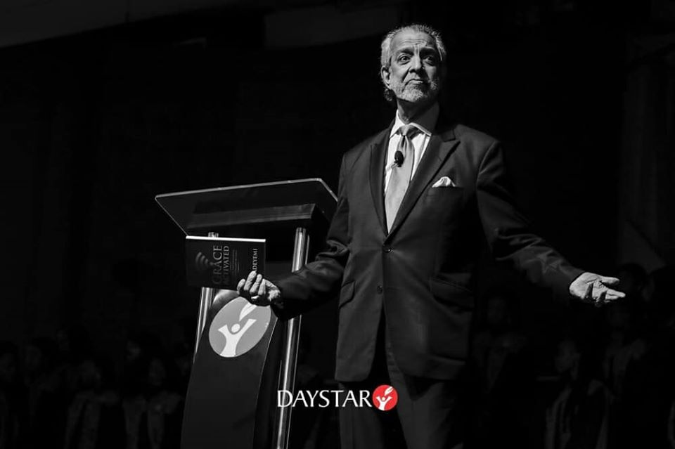 Sam Chand at the Daystar Excellence in Leadership Conference