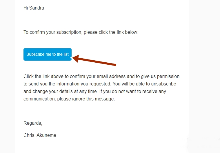 chris akuneme email confirmation